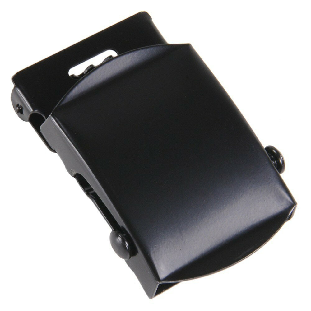 Rothco ベルトバックル 布ベルト用 [ ブラック ] 交換用 ベルト用バックルのみ アメリカンバックル USAバックル BUCKLE メンズ 取替え用バックル