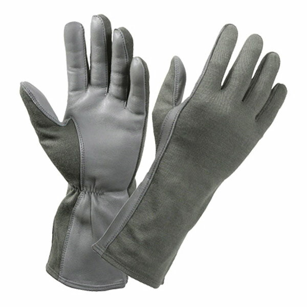 ロスコ 羊革フライトグローブ 耐熱仕様 [ フォリアージュグリーン / Sサイズ ] 3457 Rothco | 革レザーグローブ 皮製 皮タクティカルグローブ ミリタリーグローブ