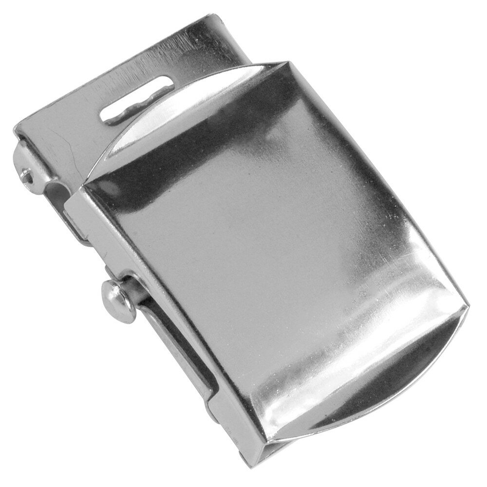 Rothco ベルトバックル 布ベルト用 [ シルバー ] 交換用 ベルト用バックルのみ アメリカンバックル USAバックル BUCKLE メンズ 取替え用バックル