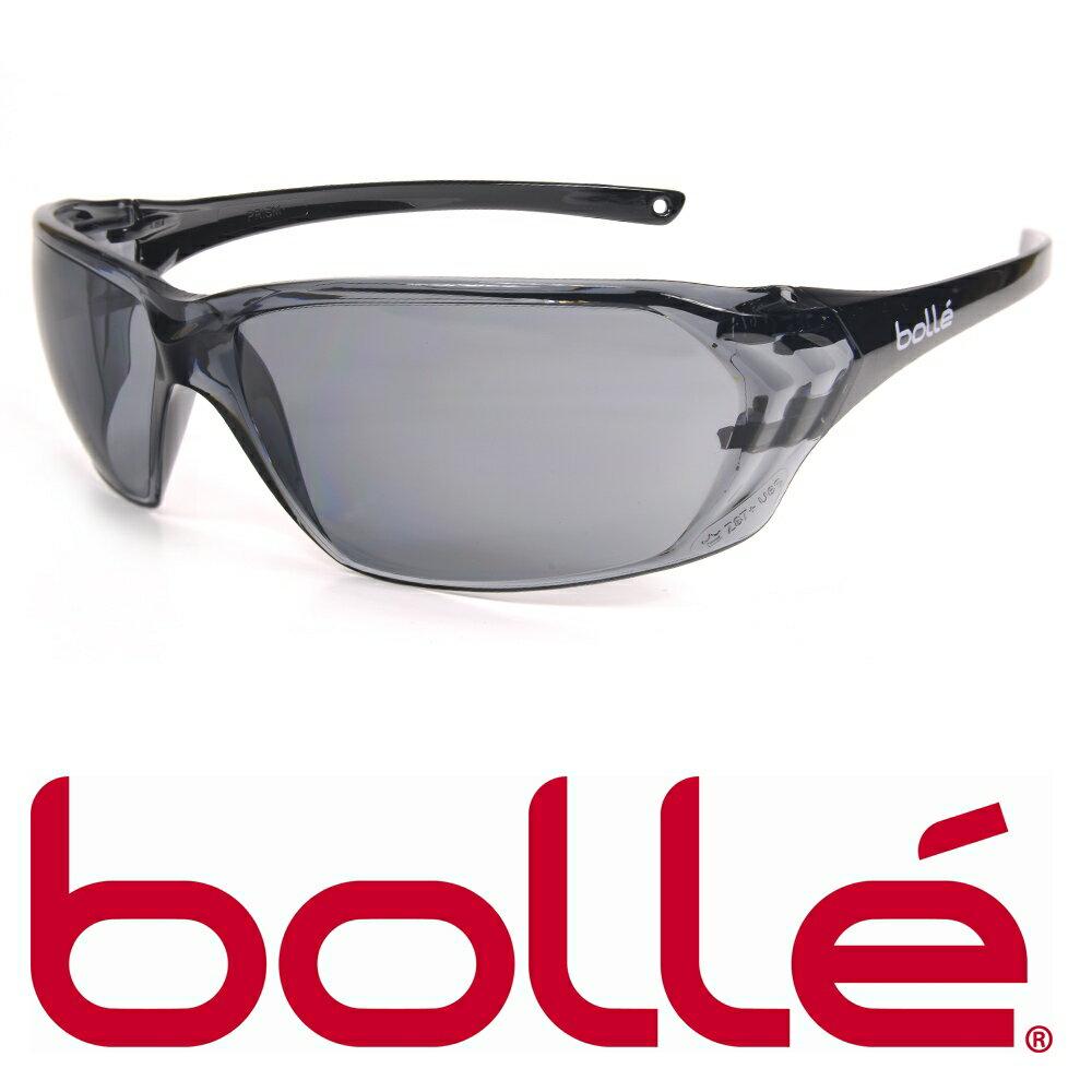 BOLLE セーフティーサングラス プリズム スモーク 40058 ボレー メンズ アイウェア 紫外線カット UVカット 保護眼鏡 保護メガネ 曇り止め