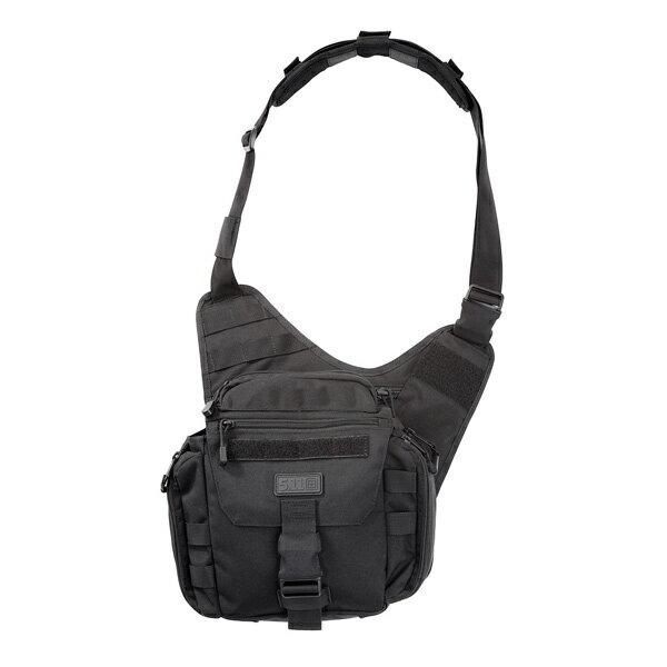 5.11タクティカル プッシュパック 56037 ベイルアウト [ ブラック ] ショルダーバッグ | 511Tactical ショルダーバック メッセンジャーバッグ かばん カジュアルバッグ カバン 鞄 ミリタリー 帆布 斜めがけバッグ