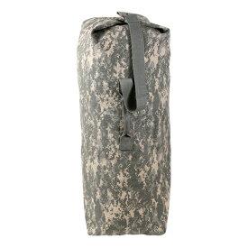 Rothco ダッフルバッグ 帆布 [ ACUデジタルカモ / Mサイズ ] ロスコ ミリタリー バックパック かばん カジュアルバッグ カバン 鞄 大容量 巾着