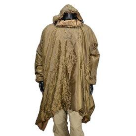 Snugpak レインポンチョ 92289 ライナー コヨーテタン レインコート 雨合羽 雨カッパ PONCHO 軍用 ナイロンポンチョ ミリタリー かっぱ 貫頭衣