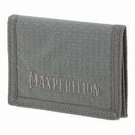マックスペディション TFW 3つ折り財布 [ グレー ] MAXPEDITION 三つ折りウォレット パスケース