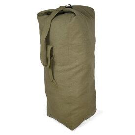 Rothco ダッフルバッグ 帆布 [ オリーブドラブ / Mサイズ ] ロスコ ミリタリー バックパック かばん カジュアルバッグ カバン 鞄 大容量 巾着 雑嚢 ジムバッグ スポーツバッグ