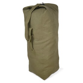 Rothco ダッフルバッグ 帆布 [ オリーブドラブ / Mサイズ ] ロスコ ミリタリー バックパック かばん カジュアルバッグ カバン 鞄 大容量 巾着