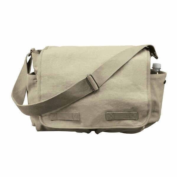 Rothco メッセンジャーバッグ HW クラシック [ カーキ ] ショルダーバッグ かばん カジュアルバッグ カバン 鞄 ミリタリー 帆布 斜めがけバッグ