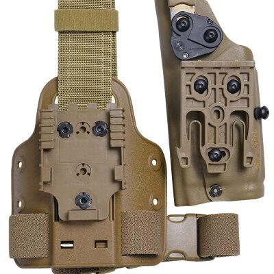 Safarilandレッグホルスターアメリカ海兵隊仕様M45A1+X300対応CB右用サファリランド6004SS-530-761-MS30-NHUSMC米海兵隊U.S.MARSOC海兵隊特殊作戦コマンドサバゲー装備品