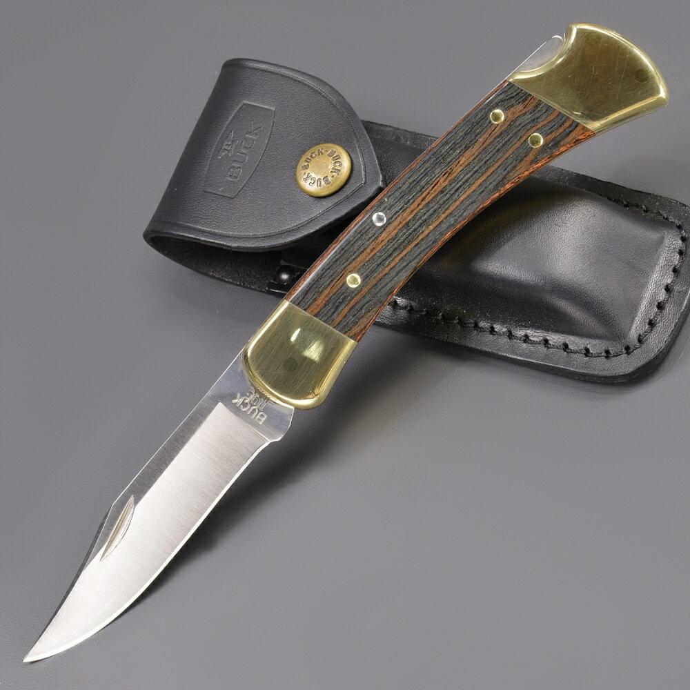 BUCK 折りたたみナイフ 110 フォールディングハンター フォールディングハンターBRS | バックナイヴズ バックナイフ 折り畳みナイフ フォルダー フォールディングナイフ ホールディングナイフ