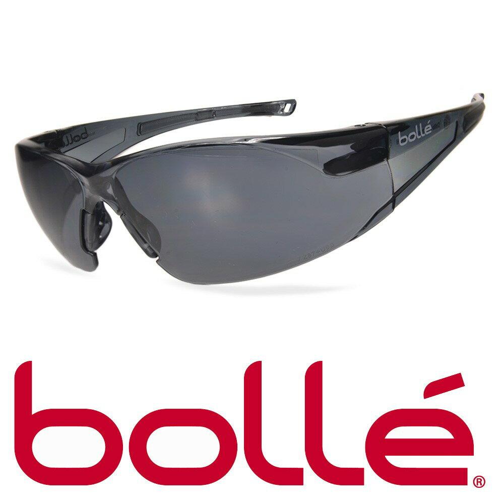 Bolle サングラス ラッシュ スモーク ボレー 1652302 メンズ アイウェア 紫外線カット UVカット 保護眼鏡 保護メガネ 曇り止め