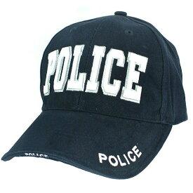 Rothco キャップ POLICE ネイビー 9489 |ロスコ ベースボールキャップ 野球帽 メンズ ワークキャップ ミリタリーハット ミリタリーキャップ