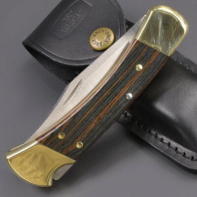 BUCK折りたたみナイフ110BRSフォールディングハンターフォールディングハンターBRS|バックナイヴズバックナイフ折り畳みナイフフォルダーフォールディングナイフホールディングナイフ