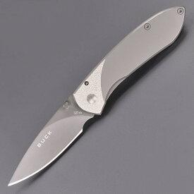 BUCK 折りたたみナイフ ノーベルマン 327TT チタン ノーブルマン Flamelock フレームロック バックナイヴズ バックナイフ 折り畳みナイフ フォルダー フォールディングナイフ ホールディングナイフ