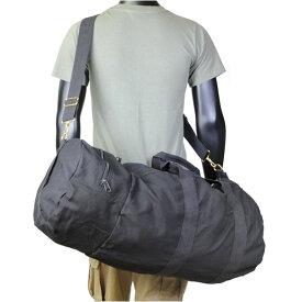 Rothco スポーツバッグ 帆布 ダブルエンダー [ ブラック ] 2373 |Rothco スポーツバック 旅行バッグ 旅行かばん 部活動 手提げカバン ミリタリーバッグ 手提げバッグ