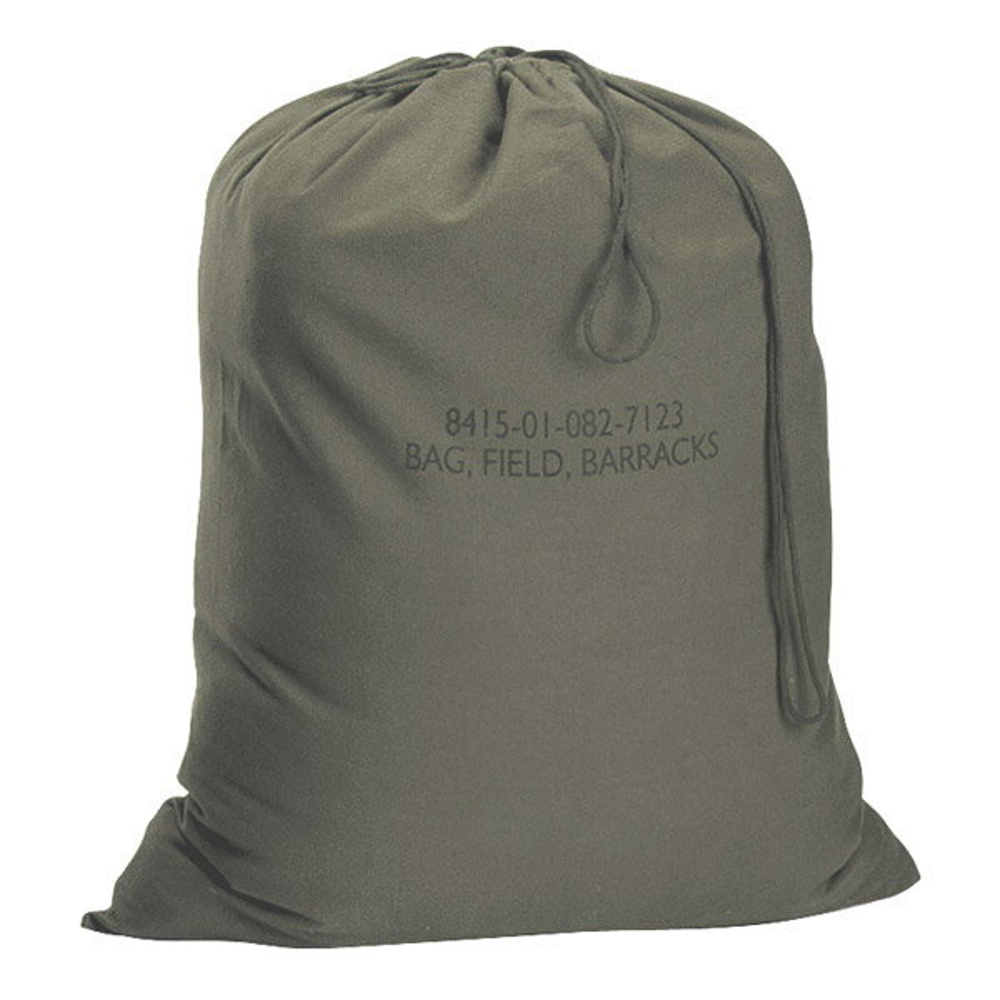 Rothco ランドリーバッグ GIタイプ 帆布 [ オリーブドラブ ] 2571 バラックスバッグ BarracksBag | ダッフルバック ミリタリー バックパック かばん カジュアルバッグ カバン 鞄