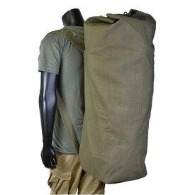 Rothco ダッフルバッグ GIスタイル ダブルストラップ 帆布 [ オリーブドラブ ] 3486 | ミリタリー バックパック かばん カジュアルバッグ カバン 鞄 雑嚢 ジムバッグ スポーツバッグ