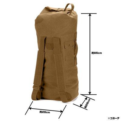 ロスコダッフルバッグダブルストラップGIスタイルキャンバスRothco3486ミリタリーバックパックかばんカジュアルバッグカバン鞄帆布スポーツアウトドアホビー雑貨セールsale
