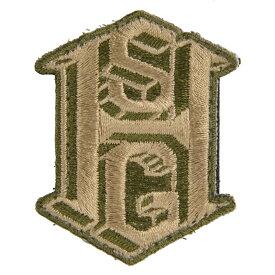 ハイスピードギア ミリタリーパッチ ロゴ ベルクロ付 90HSMPOD ミリタリーワッペン アップリケ 記章 徽章 襟章 肩章 胸章 階級章