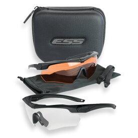ESS サングラス クロスボウ サプレッサー2X カッパー&クリア クロスボー Crossbow メンズ スポーツ 紫外線カット UVカット グラサン 運転 ドライブ バイク ツーリング 曇り止め