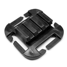 ITW Nexus ピカティニーレールアダプター MOLLE対応 [ ブラック ] PICATINNY QASM Ramp FG スリングアタッチメント サバゲー装備 ミリタリーグッズ サバイバルゲーム MOLLEアダプター モールシステム パルス モーリー PALS