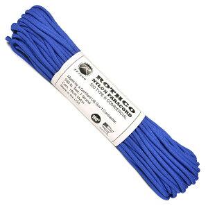 ROTHCO パラコード タイプ3 ロイヤルブルー 30m [ 30m ] ロスコ 550パラコード パラシュートコード ロープ 綱 靴紐 靴ひも シューレース 550コード ナイロンコード