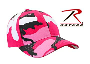 Rothco キャップ シュプリーム 9180 ピンクカモ 迷彩 | ベースボールキャップ 野球帽 メンズ ワークキャップ ミリタリーハット ミリタリーキャップ カモフラージュ