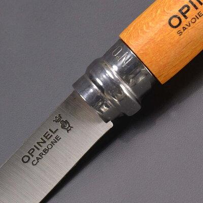 OPINEL折りたたみナイフNo7カーボンスチールオピネル折り畳みナイフフォルダーフォールディングナイフホールディングナイフ