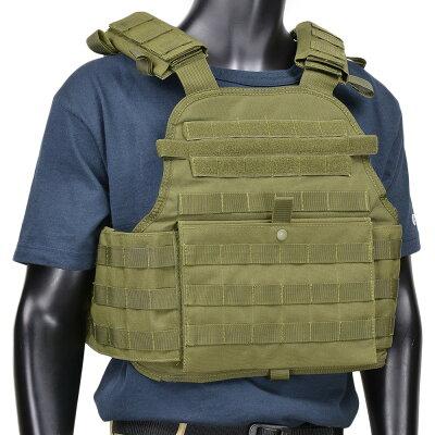 CONDORプレートキャリアMOPCモジュラーオペレーター[オリーブドラブ]コンドルアウトドア防弾ベスト防弾チョッキサバゲー装備
