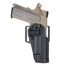 BLACKHAWK 実物 SERPA CQCホルスター 1911系適合 M45A1対応可 [ ブラック / 右利き ] ブラックホーク コルト1911 ガバメント 410503 COLT シェルパ BHI ヒップホルスター CQBホルスター 近接格闘 拳銃嚢 ベルトホルスター
