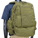 CONDOR バックパック 3day アサルト [ オリーブドラブ ] リュックサック ナップザック デイパック カバン かばん 鞄 ミリタリー ミリタ…