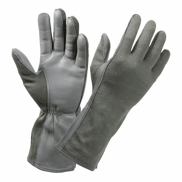 ロスコ 羊革フライトグローブ 耐熱仕様 [ フォリアージュグリーン / Mサイズ ] 3457 Rothco   革レザーグローブ 皮製 皮タクティカルグローブ ミリタリーグローブ