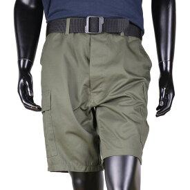 Rothco ハーフカーゴパンツ BDUショーツ 無地 [ オリーブドラブ / Sサイズ ] ミリタリーパンツ TDUパンツ BDUパンツ メンズボトム