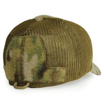 ミルスペックモンキーCG-HATメッシュキャップRAW[マルチカム/L/XLサイズ]MIL-SPECMONKEYベースボールキャップロウ野球帽メンズワークキャップハットミリタリーキャップ