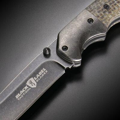 BROWNING折りたたみナイフドロップポイントBLINDSPOTフォールディングナイフライナーロック式ブラインドスポットブローニングキャンプアウトドア
