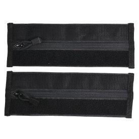 コンドル VAS プレートキャリア 拡張ジッパー 2個セット [ ブラック ] チャック ファスナー プレキャリ カンガルー ポケット サバゲー サバゲー装備