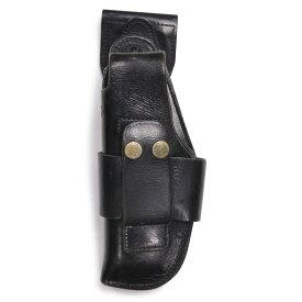 ドイツ警察 レザーホルスター ドロップダウン シグP6 P225適合モデル [ ベルトループパーツ分離型/左利き用 ] 実物 ポリスグッズ SIG ワルサー ピストルホルスター 革製