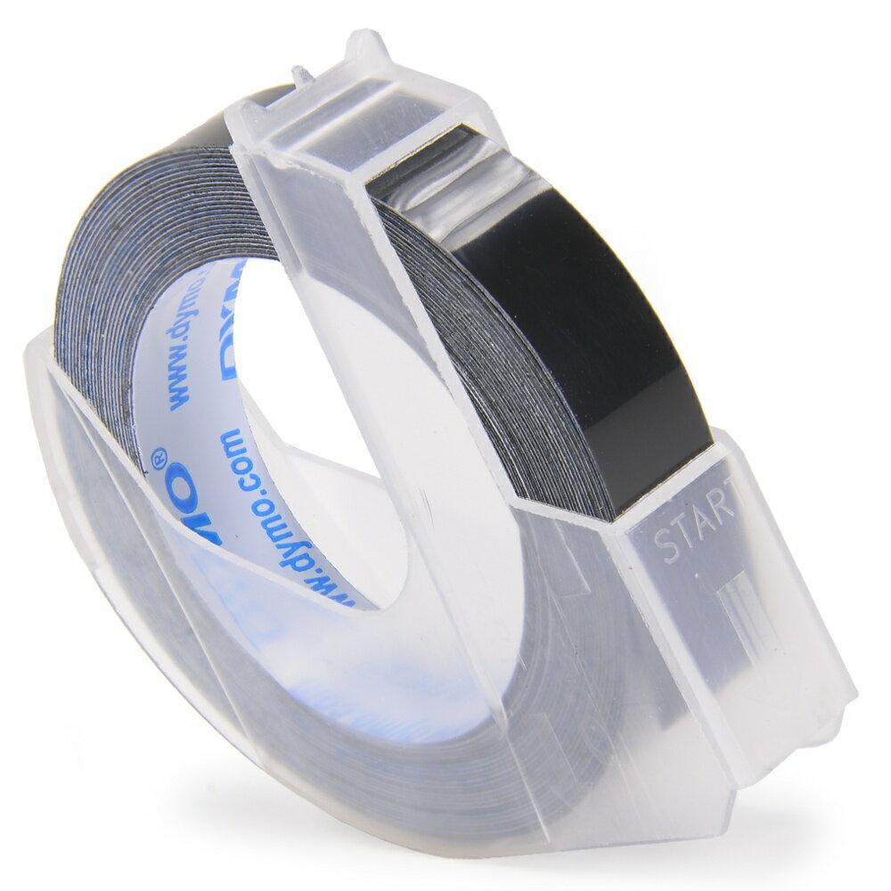 DYMO リフィルテープ 9mm幅×3M [ グロッシー_(つやあり) / ブラック ]