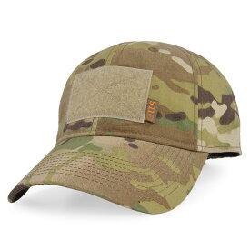 5.11タクティカル 帽子 フラッグベアラ キャップ マルチカム 5.11Tactical 511 ベースボールキャップ 野球帽 メンズ ワークキャップ ハット ミリタリーキャップ マルチカモ カモフラージュ 迷彩