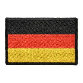 ミリタリーパッチ ドイツ国旗 アイロンシート付 ミリタリーワッペン アップリケ 記章 徽章 襟章 肩章 胸章 階級章