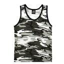 Rothco タンクトップ コットン混紡 迷彩 [ シティカモ / Mサイズ ] |Rothco メンズTシャツ 半そで プリント デザイン スポーツ ミリタリーTシャツ ミリタリーシャツ