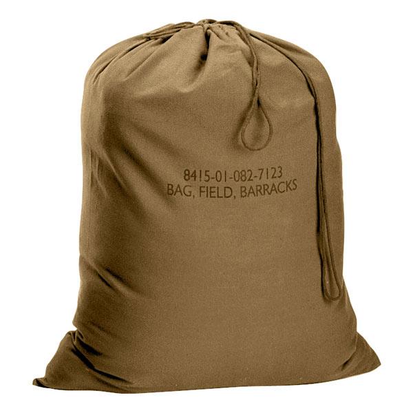 Rothco ランドリーバッグ GIタイプ 帆布 [ コヨーテ ] 2671 バラックスバッグ BarracksBag | ダッフルバック ミリタリー バックパック かばん カジュアルバッグ カバン 鞄