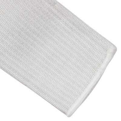 防刃スリーブ1双組ステンレスワイヤー編込[ホワイト]アームバンドアームガード作業用アームカバー作業用カバー耐刃