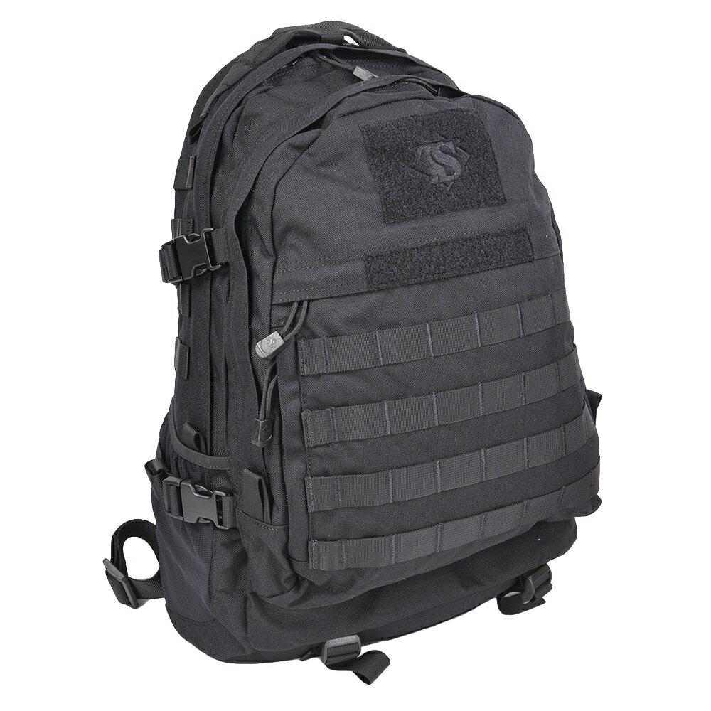 TRU-SPEC バックパック ELITE 3-DAY [ ブラック ] TRUSPEC トゥルースペック ATLANCO TDU アトランコ リュックサック ナップザック デイパック カバン かばん 鞄 ミリタリー ミリタリーグッズ サバゲー装備