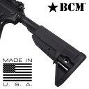 BCM 実物 ガンファイター ストック MOD 0 AR15 M4対応 [ ブラック ] ブラボーカンパニー Stock Assembly buttstock バットストック 電…