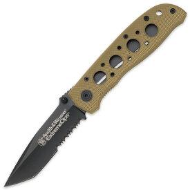 スミス&ウエッソン 折りたたみナイフ CK5TBSD ブルズアイ S&W 折りたたみデザートカモ | スミス&ウェッソン 折り畳みフォルダー フォールディングホールディング