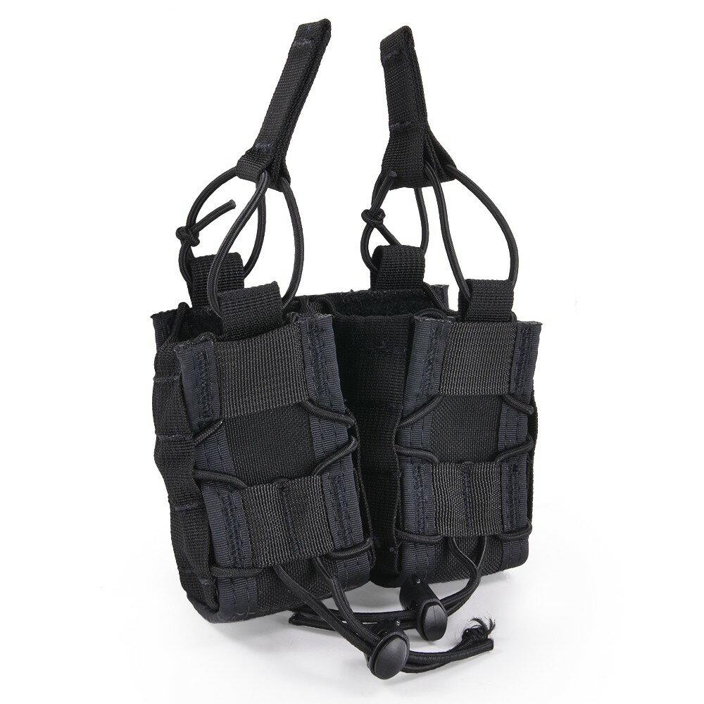 ハイスピードギア TACOマグ 実物 40mmグレネードポーチ 11M402 2個収納可能 [ ブラック ] 40mmグレネード弾