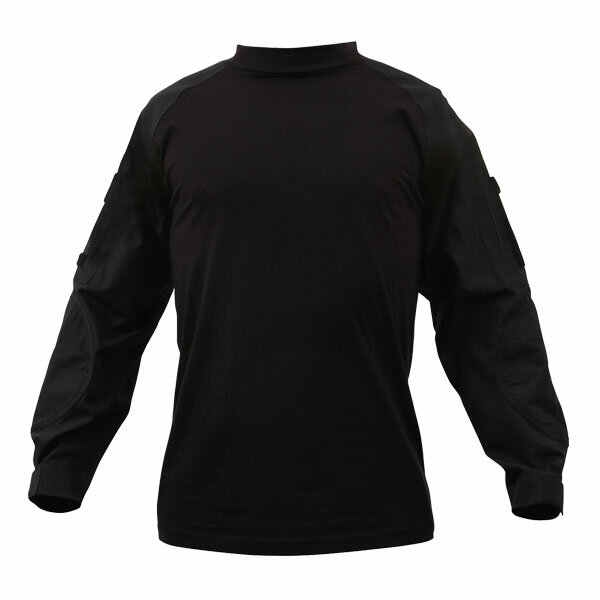Rothco コンバットシャツ 90010 ブラック [ Lサイズ ]