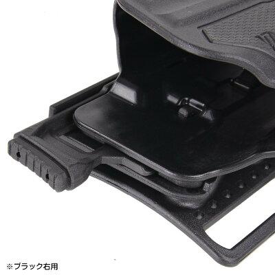 BLACKHAWKヒップホルスターOMNIVOREマルチフィットライト対応150種以上適合[右用]ブラックホークライト付ライトマウント樹脂製ホルスターロック機能付きロックありサバゲ—サバゲ—装備