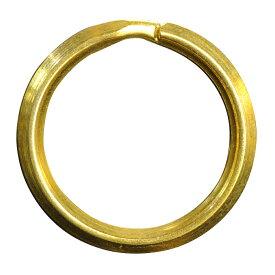 二重リング 三角押 真鍮 ゴールド ハンドクラフト材 [ 20mm ] 二重カン ハンドメイド クラフトパーツ 手芸 レザークラフト 革細工 キーリング 二重環 レザークラフト資材 レザークラフト材料