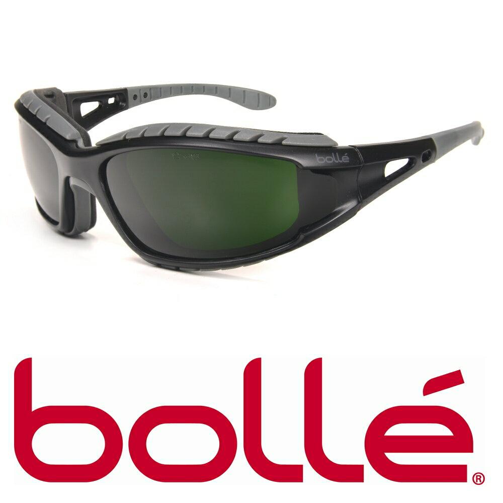 BOLLE セーフティーサングラス トラッカーウェルディング 遮光度#5 40089 ボレー メンズ アイウェア 紫外線カット UVカット 保護眼鏡 保護メガネ 曇り止め